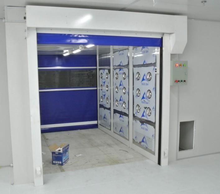 北京双开门货淋室和风淋室区别哪家好