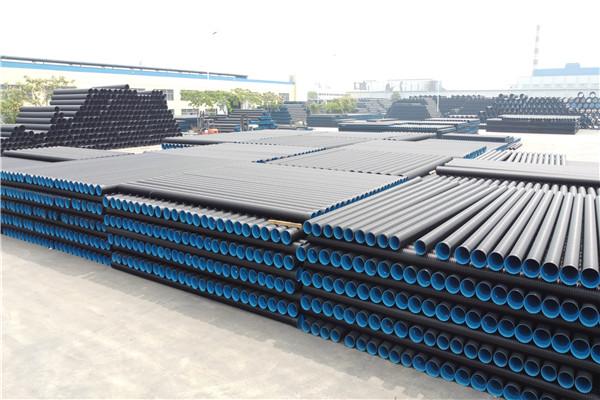 九江钢丝网骨架复合管pe给水管鸿德管业中空壁缠绕管厂家