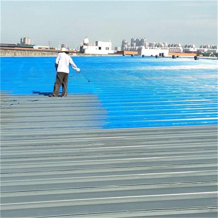 灵璧水性工业漆轩扬实体彩钢瓦翻新施工