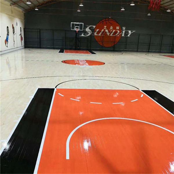 百科:六安篮球木地板(价格)