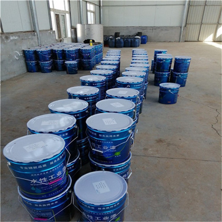 郓城集装箱翻新漆水性工业漆承接施工