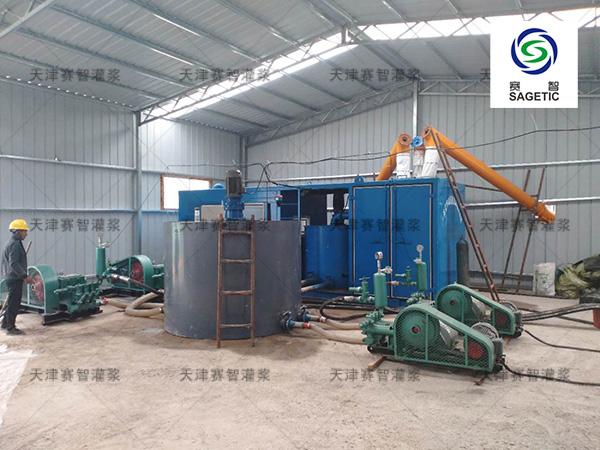 汕头SZ-ZJ2000分体式采空区充填注浆站-天津赛智灌浆质量保证