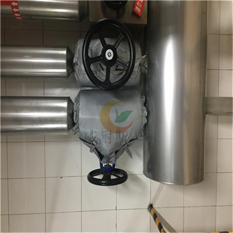珲春市:柔性疏水器保温被---长期使用_(威耐斯)
