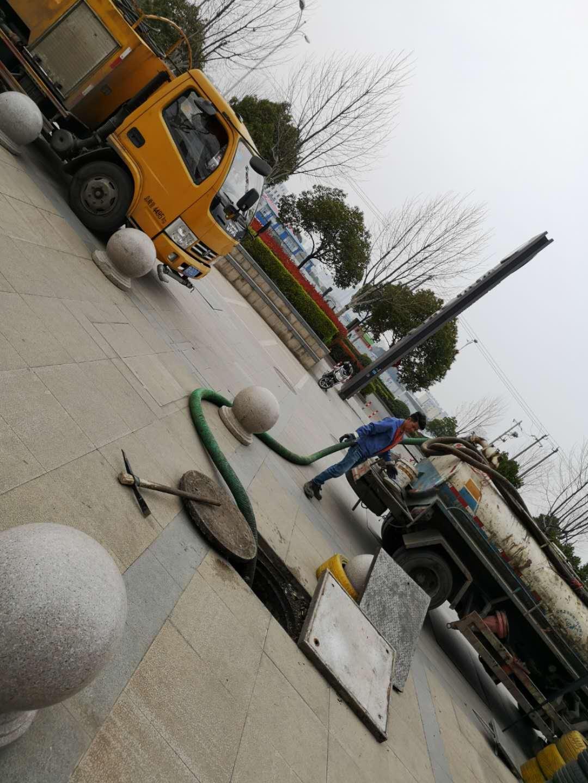 上海市宝山区雨水管道疏通和清理--专业施工