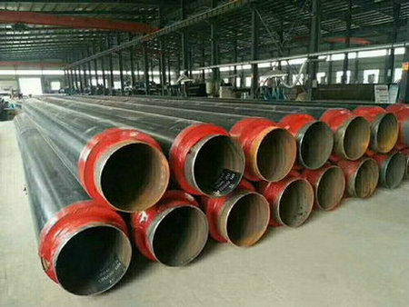 玻璃丝缠绕架空保温钢管&厂家电话