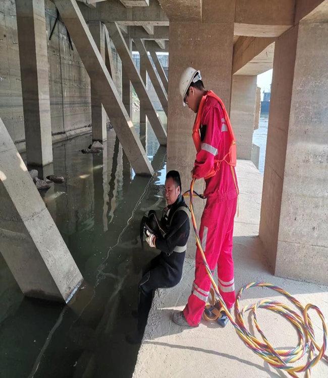 桂林市潜水员服务公司-施工作业全过程