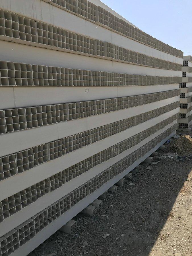 保定安新PVC九孔栅格管厂家直发河北万凯