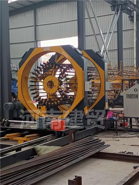 淄博钢筋笼成型绕筋机生产厂家