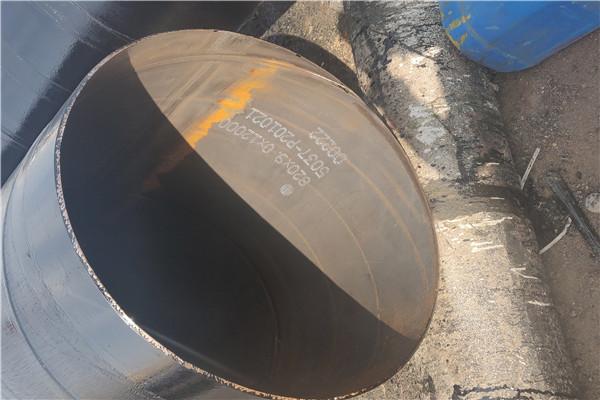 吉安井冈山缠绕式三层PE涂覆防腐螺旋钢管大放异彩