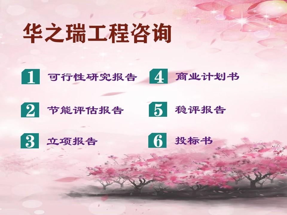 2021广德县写可行性报告公司会做申请报告