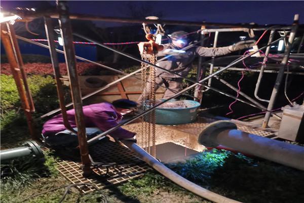 无锡惠山钱桥雨污水管道混流检测清洗