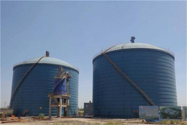 三明市大型焊接钢板仓在工业领域中的应用