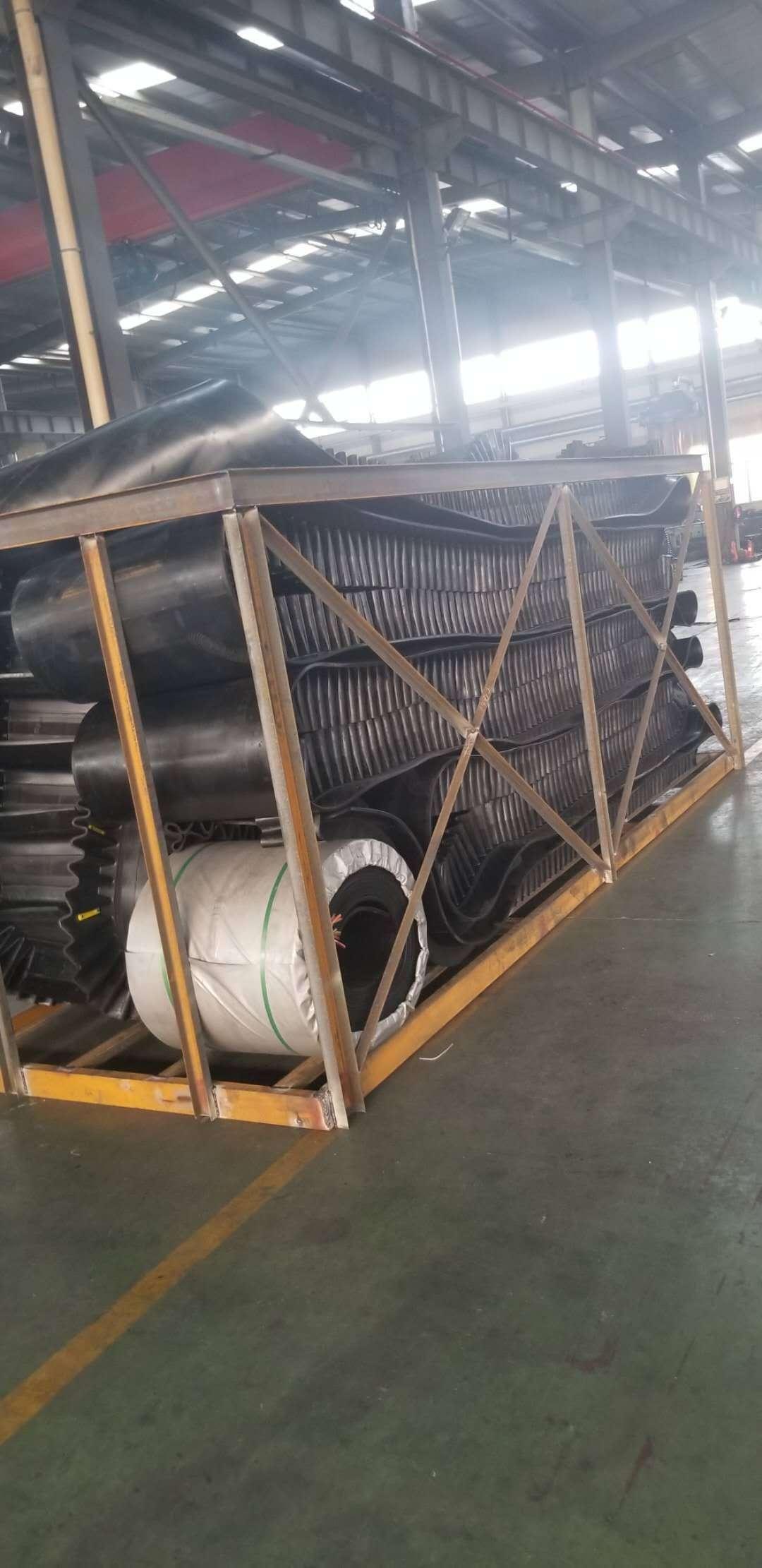大倾角挡边带厂家:耐热挡边输送带高品质|湖州安吉