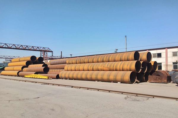 襄阳市20钢螺旋缝钢管现货