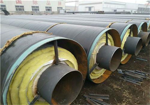 西安莲湖直埋蒸汽钢套钢保温钢管实体厂家