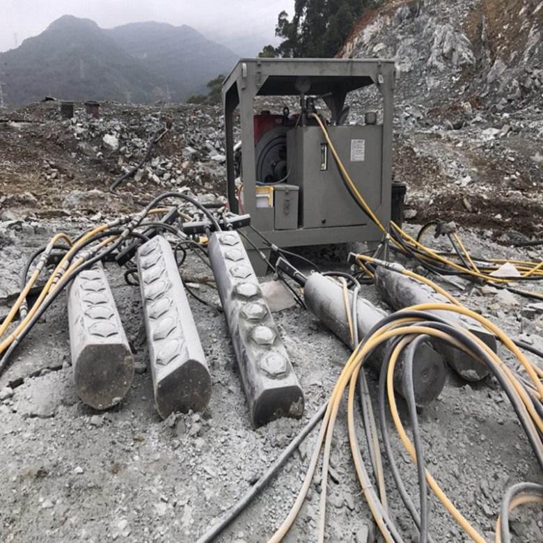 地基整块硬石头怎么能快速的挖出来黄龙