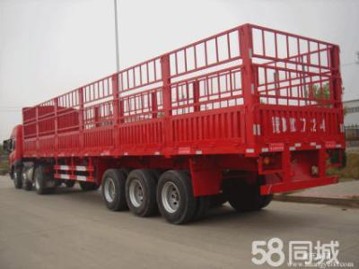 有惠州市到饒河大貨車平板貨車高欄貨車#