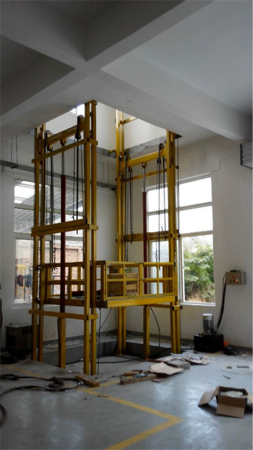 吉林导轨是货梯/大吨位升降货梯参数