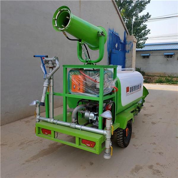 冷水江市新能源小型电动雾炮三轮洒水车