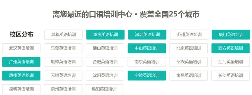 重庆九龙坡区英语外教口语班有哪些_那个比较好