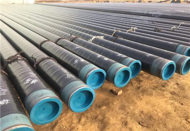 石林包覆式天然气输送用3PE防腐管道