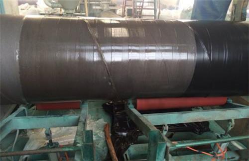 426*6三层聚乙烯涂覆防腐钢管大型生产厂家