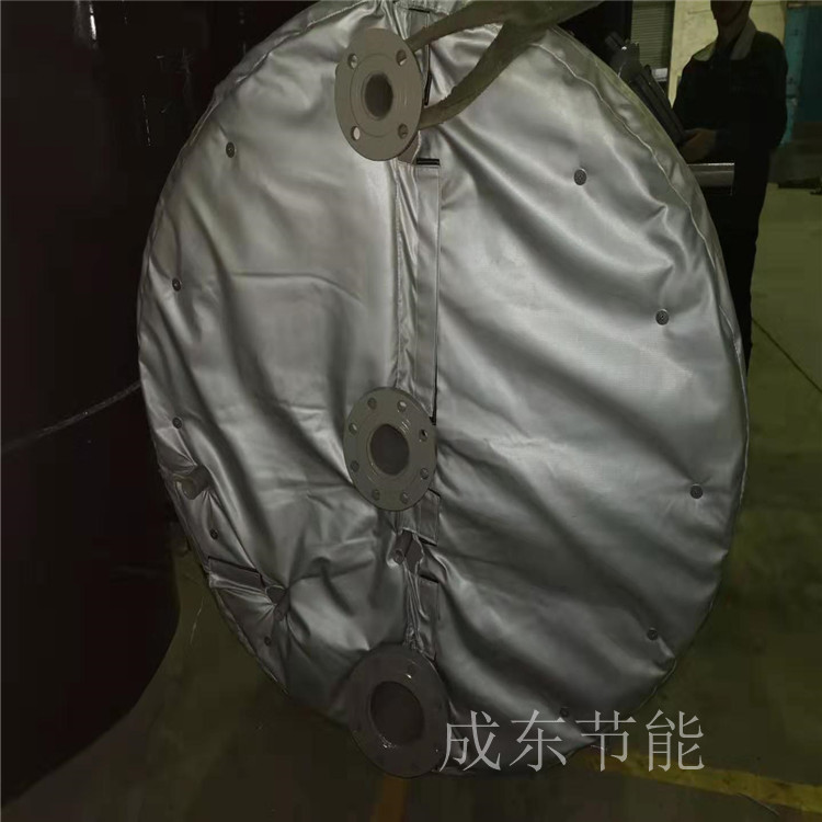 广东省河源:软体电加热隔热棉电加热隔热套@成东科技