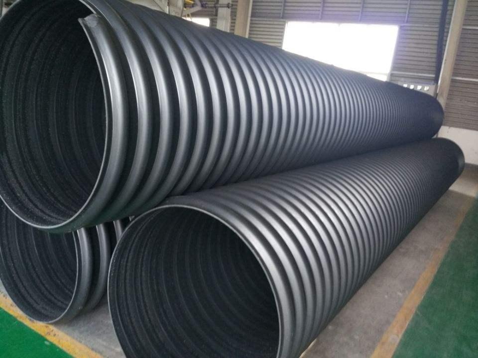 雅安HDPE钢带增强螺旋波纹管定制批发