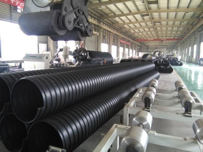 百色hdpe钢带管价格货源充足