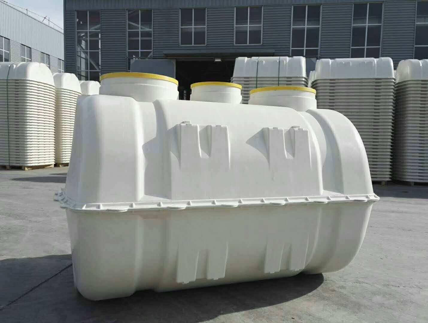 梧州SMC玻璃钢模压化粪池厂家安装简便