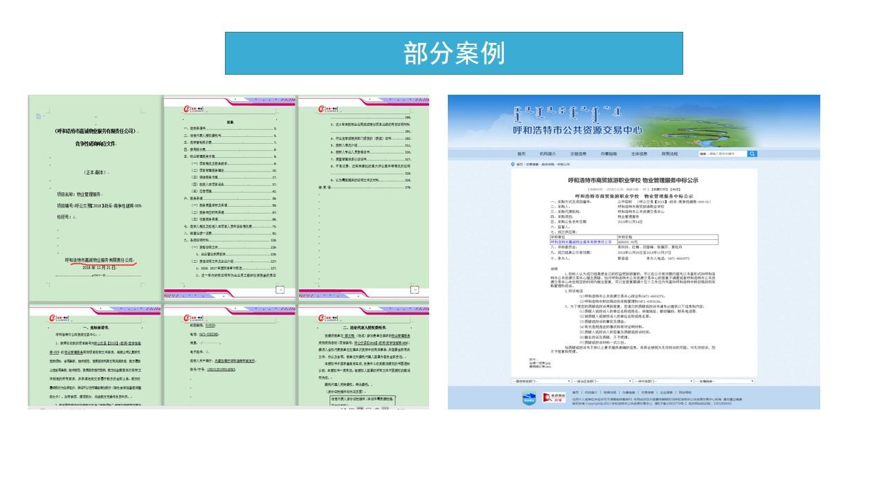 河南县哪里可以代写服务类标书经验丰富