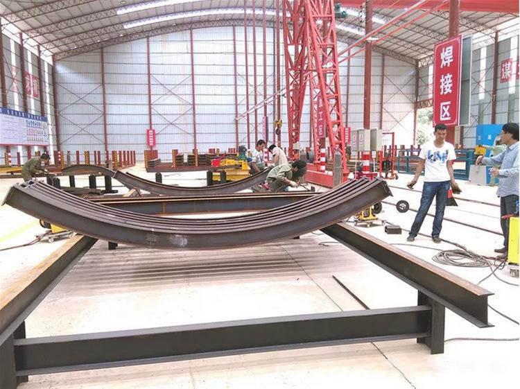 小半径数控工字钢冷弯机厂家 H型钢冷弯机操作