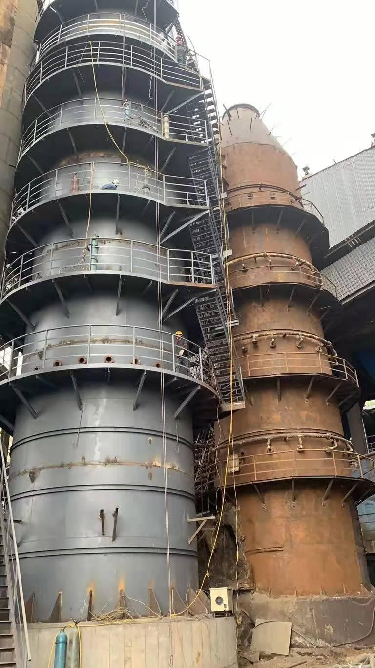 芜湖输煤系统彩钢板更换施工流程