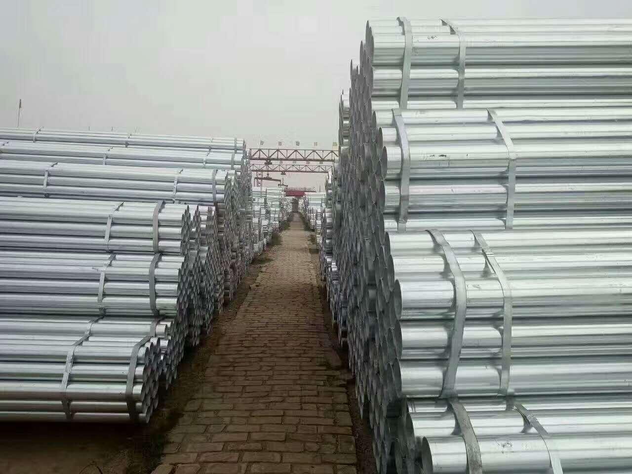 鄂州Q355B镀锌钢管8寸200现货供应价格优惠