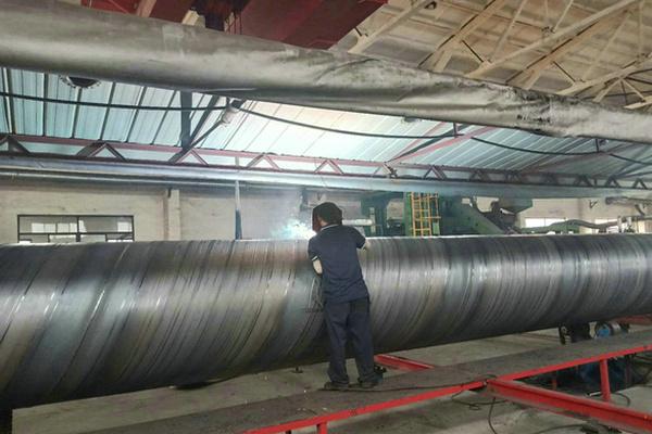 张掖市GB/T9711-2017螺旋缝钢管制管厂