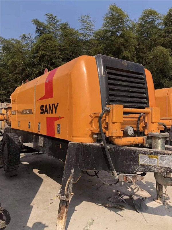 平和县--二手三一混凝土泵车回收价格