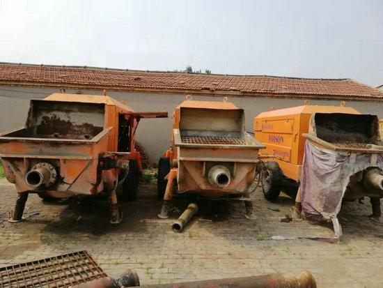 二手回收細石混凝土拖泵(價格表)