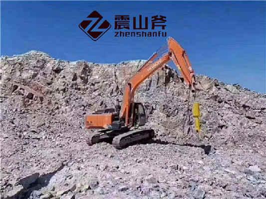 露天矿山开山石头机械劈裂机产品报价