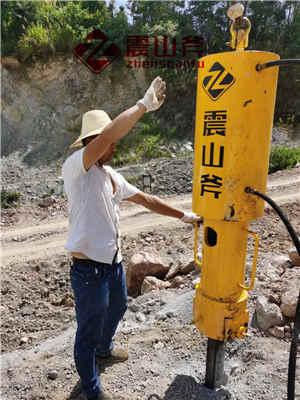 渑池石头液压裂岩棒露天煤矿开采设备