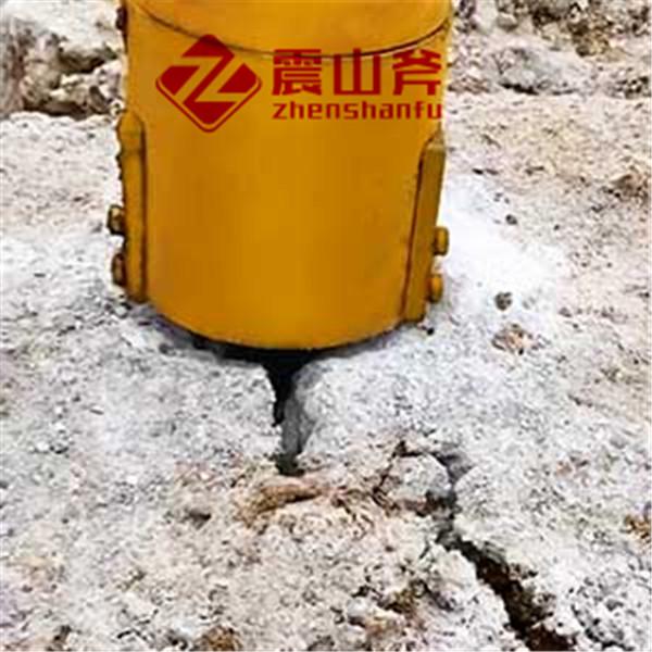 新乡获嘉破碎岩石机械矿山霹雳机使用方法