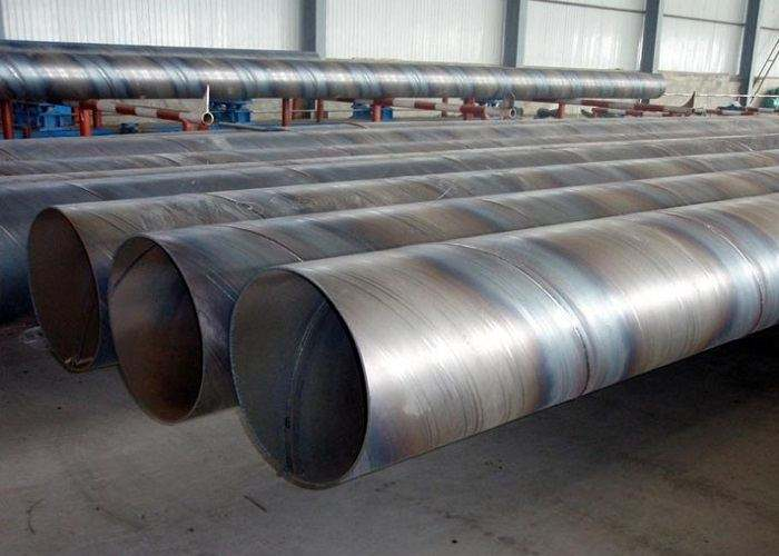 厂家送货:水利工程用螺旋钢管过磅价格长清