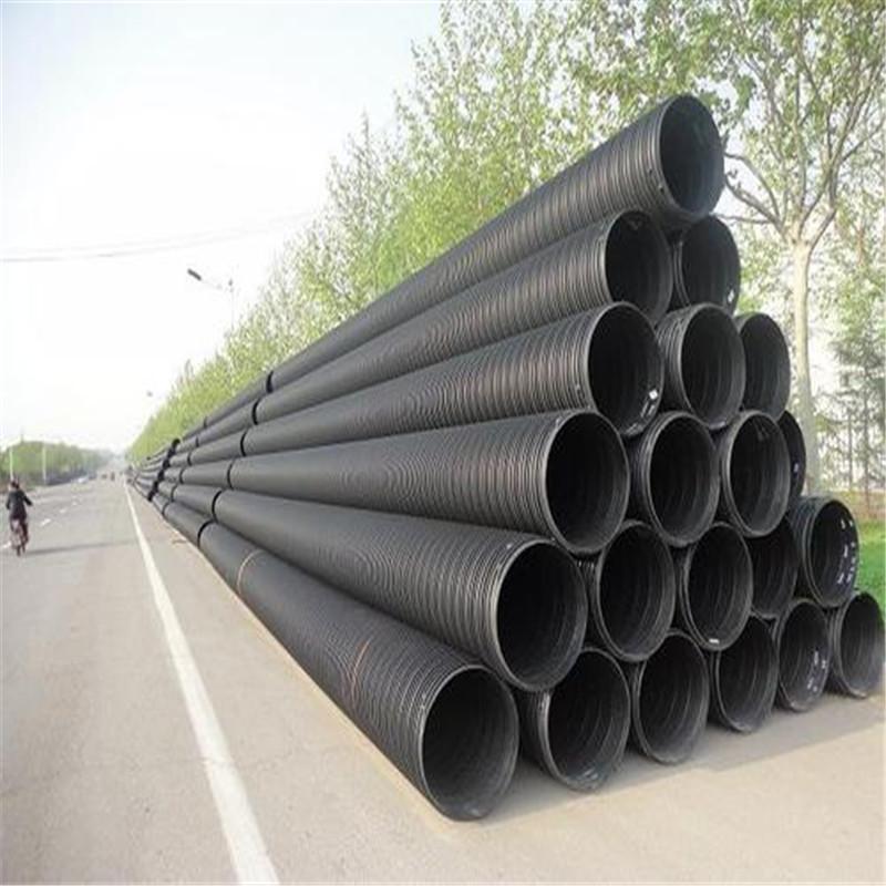 凉山塑钢缠绕管价格质量轻