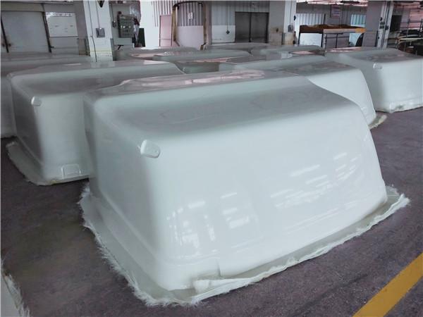 赣州安远卡车玻璃钢保险杠修复【东莞雅日玻璃钢】