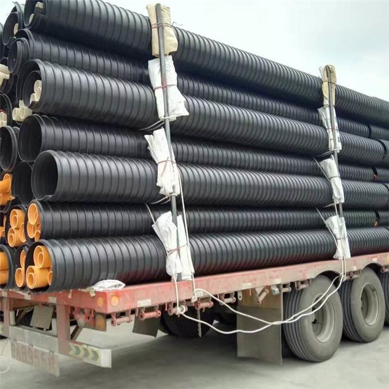 南充大口径塑钢缠绕管厂家安装简便