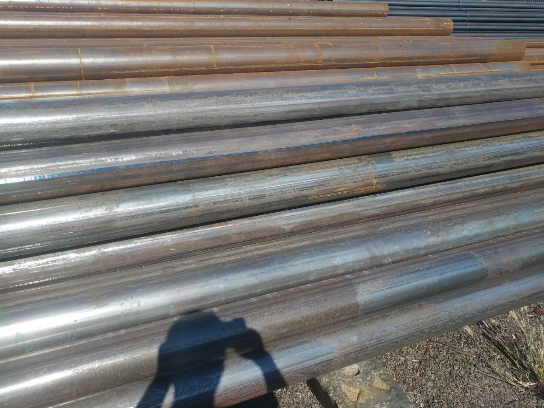 内蒙古呼伦贝尔20#直缝焊接钢管54*3一米价格