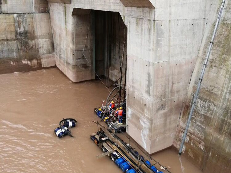 江西闸门槽水下检查施工方案