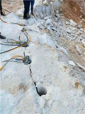 东莞桥头液压霹雳器岩石开采设备