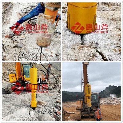从化区矿山矿用液压岩石霹裂器品牌有哪些