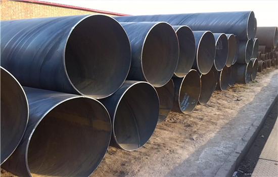 渭南市-排水管道工程用螺旋钢管批发零售厂家