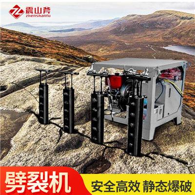 中山港口石材岩石大型涨裂机精工打造